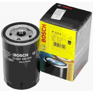 Bosch Ölfiter VW 0451103314 Filtereinsatz, Ø 80 mm, Höhe 123 mm OV 314 OF-VW-2 P3314