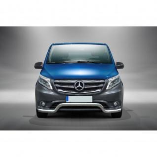 Frontschutzbügel für Mercedes-Benz Vito ab Baujahr 2014