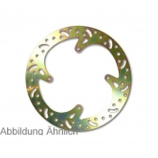 Carbonstahl Disc Starre Bremsscheibe (wärmebehandelt) goldfarben beschichtet Can Am DS 250 Ø=190mm