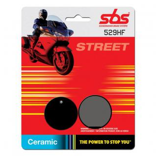 Bremsbelag SBS 529HF Street Ceramic