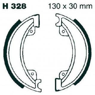 Premium Bremsbacken Water Grooved H328G für Honda