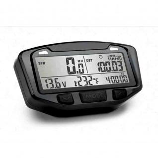 TrailTech Striker, Digitaltacho Batterieanzeige DRUM BRAKES (e.g. Honda XR 200) Trommelbremse