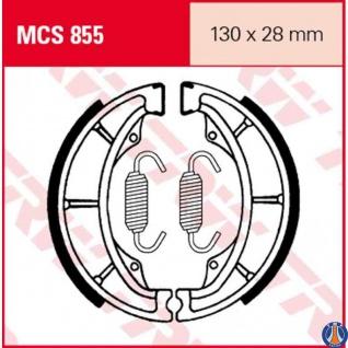 MCS855 Bremsbacken Honda Hyosung Kawasaki Sinnis PGO Suzuki