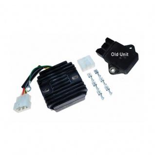 Regulator Rectifier Honda: CB750F2 (85-96), CB750 Nighthawk (91-01), CB1000 Bigone (93-97), CBR1000F (90-96), ST1100