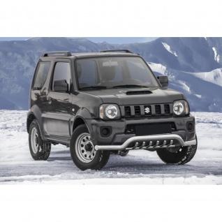 Frontschutzbügel mit unteren Grill für Suzuki Jimny Baujahr 2012-2018