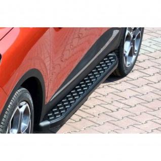 Trittbretter VW Amarok ab Baujahr 2010 Model Hitit in Schwarz