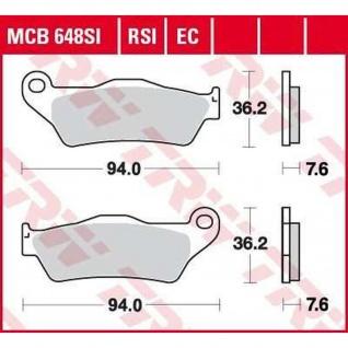MCB648RSI Bremsbelag
