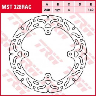 MST328RAC Bremsscheibe starr kontour Honda CR CRF 125 250 450 02-14