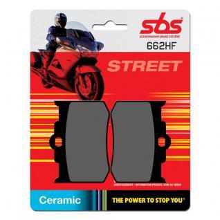 Bremsbelag SBS 662HF Street Ceramic