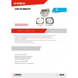 Easy Mx Cylinder Kit Ktm Exc-f 350 Freeride 350 Xcf-w 12-13 - Vorschau 2