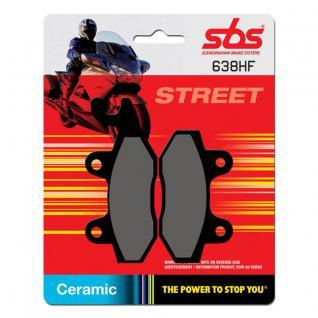 Bremsbelag SBS 638HF Street Ceramic