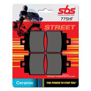 Bremsbelag SBS 775HF Street Ceramic