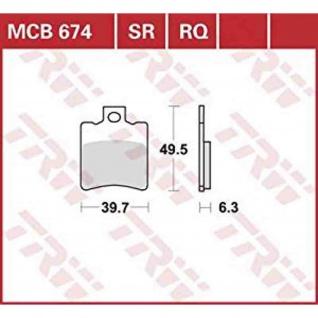 MCB674SR Bremsbelag (Auslaufartikel)
