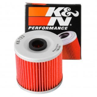 K&N Ölfilter KN-123 Kawasaki KLT 200 KLF 200 KEF 300 KLF 300 Z 200 BJ250 KL 250 KL 650 16099-004