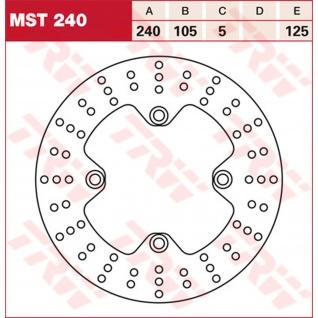 MST240 Bremsscheibe starr Cagiva Honda