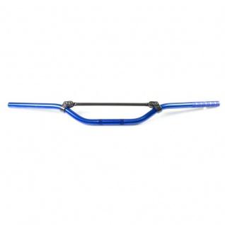 MCL154B Aluminiumlenker MC Offroad mittelhoch medium blau 22 mm