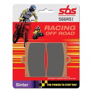 Bremsbelag SBS 566RSI Offroad Racing Sintermetall