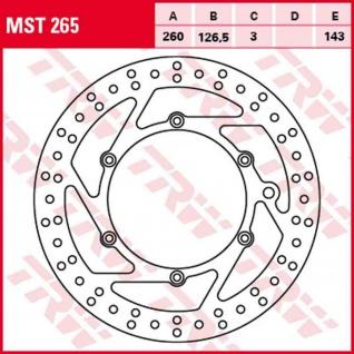 MST265 Bremsscheibe starr Benelli Husaberg KTM