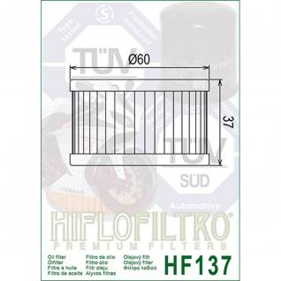 HF137 Oilfilter CCM Suzuki OEM 16510-37440 16510-37450