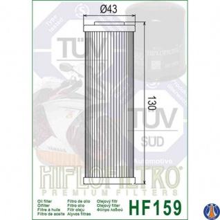 Hf159 Ölfilter Ducati Panigale 12-17 Oem 44440291c 44440292b 44440312b - Vorschau 2