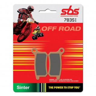 Bremsbelag SBS 783SI Offroad Sintermetall KTM SX 65