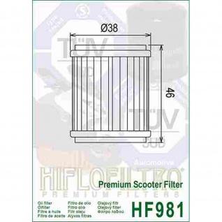 HF981 Ölfilter MBK Scooter Yamaha VP YP X-City R X-MAX OEM 38B-E3440-00 5YP-E3440-00