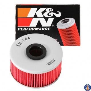 K&N Ölfilter KN-144 Yamaha XS 250 FZ 400 FZR 400 XJ 400 550 600 700 750 900 1L9-13440-91 1L9-13441-11