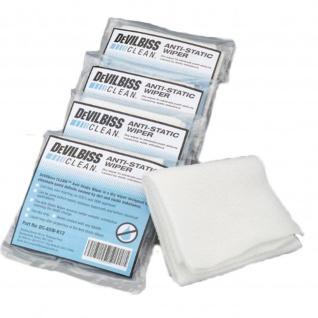 Präpariertes Einweg-Anti-Statik-Tuch zur Eliminierung statischer Aufladung zwischen Lackschichten 12 Stück / Packung