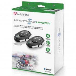 Interphone URBAN Bluetooth®-Kommunikation Doppelpack 2er Set
