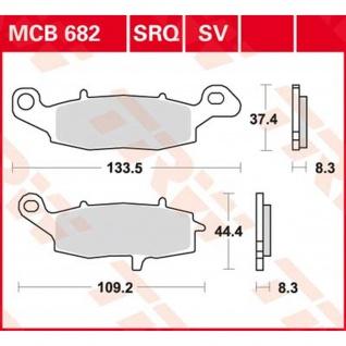 MCB682SV Bremsbelag Kawasaki Suzuki