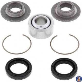 Lower Rear Shock Bearing Kit Yamaha IT490 83-84, YFM350 Warrior 87-04, YFM660R Raptor 01-05, YFZ350 Banshee 87-09, YZ125 83-88, YZ250 83-89, YZ490 83-90, Lwr Rear Shock Brg Kit Upgrade Yamaha TT350 87, Upper Rear Shock Bearing Kit Yamaha TT350 87