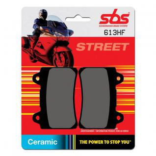 Bremsbelag SBS 613HF Street Ceramic