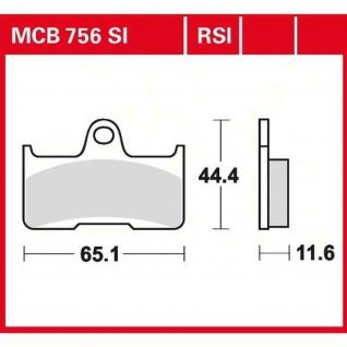 MCB756SI Bremsbelag Suzuki Quadzilla 07-09 500 Yamaha Grizzly 660 02-10 CFMoto 800 CF Terralander 12-
