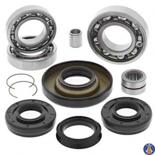 Differential Bearing and Seal Kit Front Honda TRX400FW Fourtrax Foreman 4x4 02-03, TRX450FE/FM 02-04, TRX500FA 01-04, TRX500FGA 04