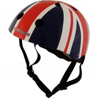 Kiddimoto Helm Union Jack Größe S - 48-53 cm, geprüft nach EC EN1078