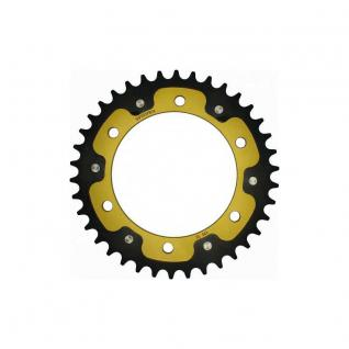 Stealth-Kettenrad Supersprox 525 - 38Z (gold) RST-498:38-GLD D 120, 0 LK 140, 0 6-Loch