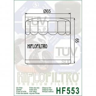 HF553 Oilfilter Benelli 899 Cafe Racer TNT 900 Tornado 1130 cafe Racer Titanium TRE K Amazonas OEM 018.01.07.101.000