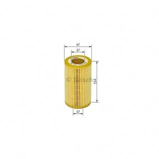 Bosch Ölfiter Mercedes 1457429261 P9261 Filtereinsatz, Ø 47 mm, Höhe 154 mm