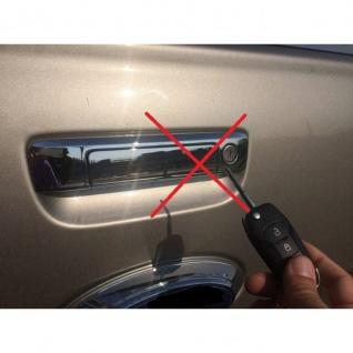 Laderaumabdeckung in schwarz mit Trenngitter und Zentralverriegelung SET für VW Amarok Aventura Double Cab ab Baujahr 2010 - Vorschau 5