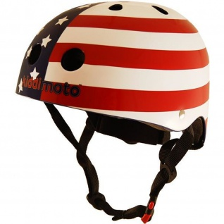 Kiddimoto Helm USA Größe M - 53-58 cm, geprüft nach EC EN1078
