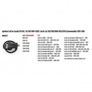 Ignition Coil for Suzuki SV 650 GS 500 89-09 Arctic Cat Thundercat ZRT 600 900 550 700 1000 ATVs 93-16