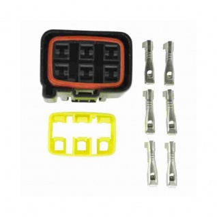 Connectors Kit Regulator for Yamaha ATV 02-16 Motorcycles 99-05 Snowmobiles 98-06 PWC 03 5BN-81960-00-00 21066-3717