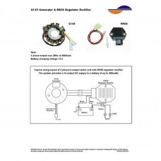 Lichtmaschine Generator 4 Stroke 80039004100