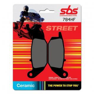 Bremsbelag SBS 784HF Street Ceramic