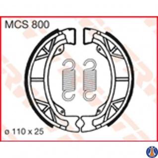 MCS800 Bremsbacken Aprilia Baotian Benelli Benzhou Beta Cagiva Daelim Endres E-ton Gilera Honda KTM Jack Fox (Benzhou) Kymco