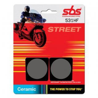 Bremsbelag SBS 531HF Street Ceramic