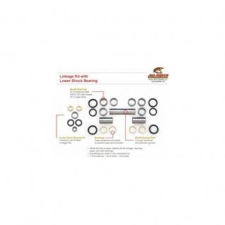Dichtungs- und Lagersatz Federbeinumlenkung Suzuki DR125 86-88, DR125SE 94-02, DR200 86-88, DR200 SE 96-09, SP125 86-88, SP200 86-88