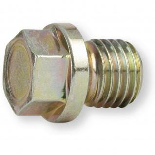 Ölablassschraube Stahl M18 x 1.5 Schlüsselweite 17 mm