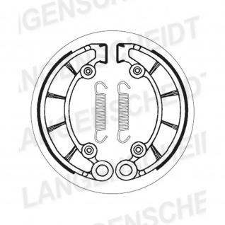 Bremsbacke SBS 2072 Maße: 180 x 30 Honda CB450 CB500 CB550 PX50 Honda XL500 R KTM SX 50 Puch Lido Monza 50