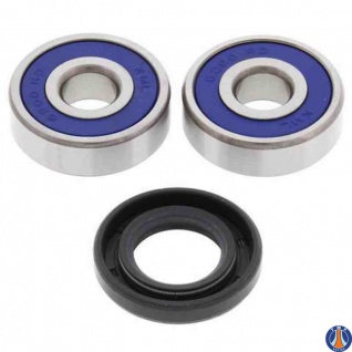 Wheel Bearing Kit Front Yamaha Cy50 Jog (sa) 90-00, Cy50 Jog 01, Pw50 81-16, Qt50 79-87, Sh50 Mint (sa) 89-94, Sh50 Razz (sa) 89-00, Xc50 Vino Classic 02-05, Yj50 Vino 01-04, Ysr50 87-92 - Vorschau